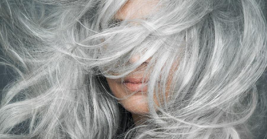 salt and pepper hair